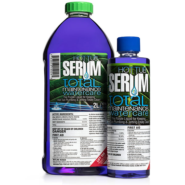 Hot Tub Serum Total Maintenance
